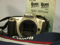 ' 300 NICE SET ' Canon EOS 300 SLR Camera + Inst   £9.99